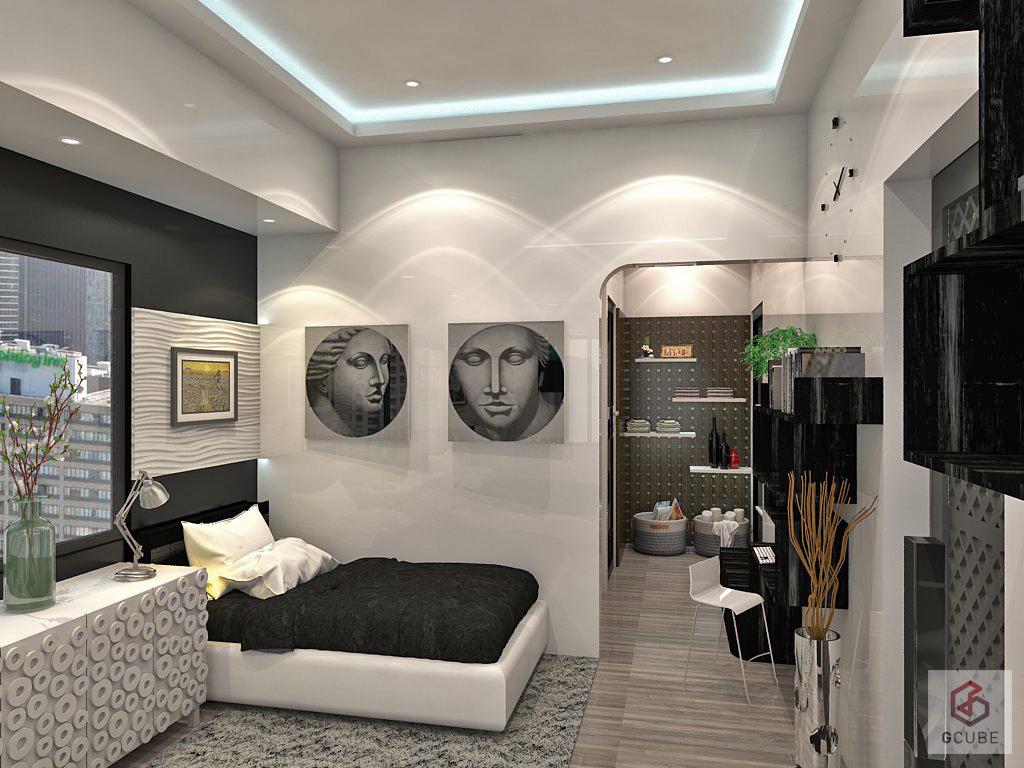 small condo interior design philippines - G Cube Design ...