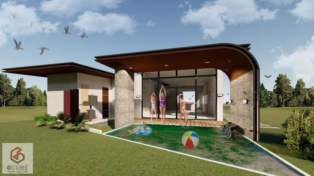 Bungalow With Swimming Pool Yes It S Possible G Cube Design Build Inc